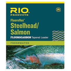Rio Fluoroflex Steelhead / Salmon<br>Knotless Tapered Leaders from W. W. Doak