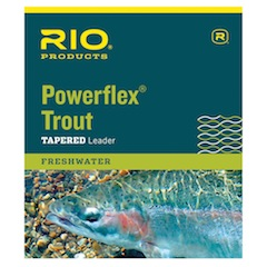Rio Powerflex Trout<br>Knotless Tapered Leader from W. W. Doak