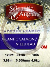 Scientific Anglers Salmon / Steelhead<br>12 ft. Knotless Tapered Leaders from W. W. Doak