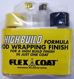 Flex Coat High Build Rod Wrapping Finish from W. W. Doak