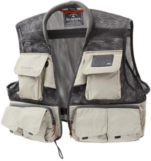 Simms Headwaters Mesh Vest<br><em>2013 Style</em> from W. W. Doak