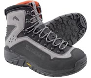Simms G3 Guide<br>Vibram Sole Wading Boot from W. W. Doak