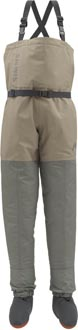 Simms Kid&#039;s Tributary<br>Stocking Foot Wader from W. W. Doak